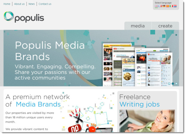 Populis Create, une plateforme de rédaction web