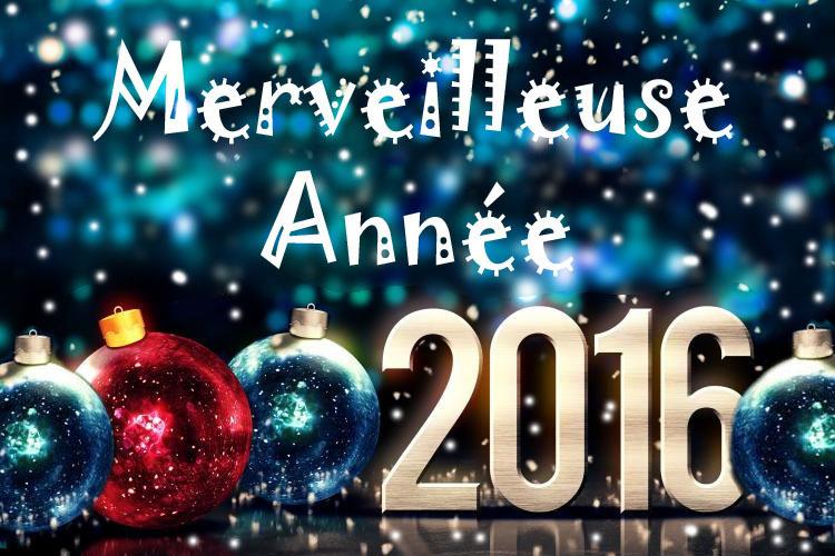 Eric Rédaction vous souhaite une belle et heureuse année 2016