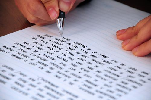 L'écriture sous toutes ses formes