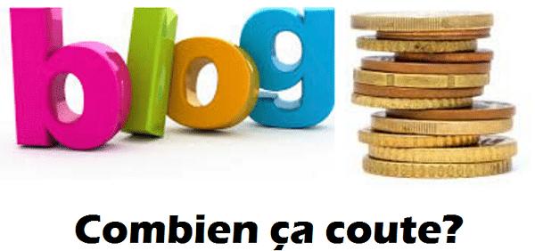 Le coût pour rédiger un article de blog