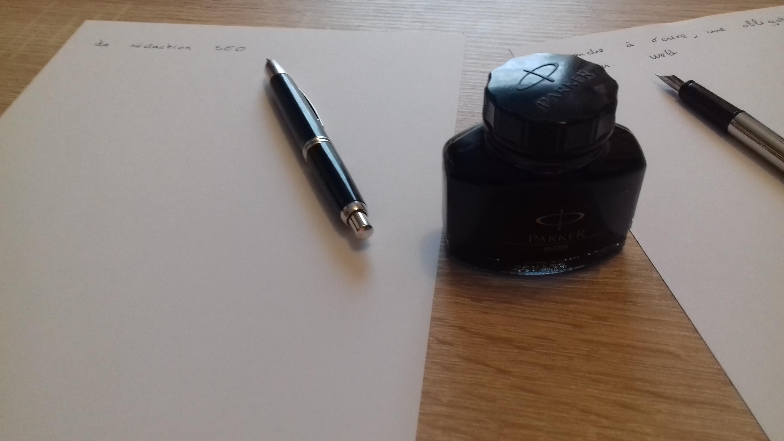 Le rédacteur web, un habitué de l'écriture manuscrite ?
