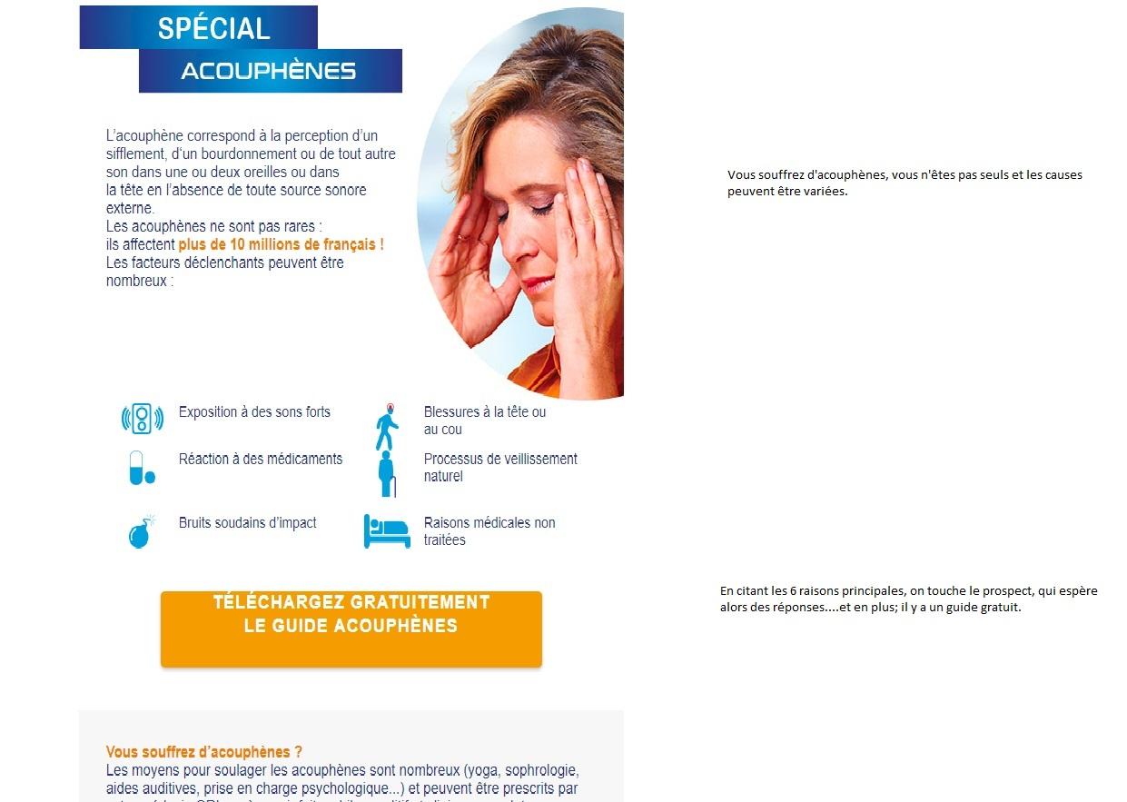 Emailing acouphène, rendre un emailing marketing efficace