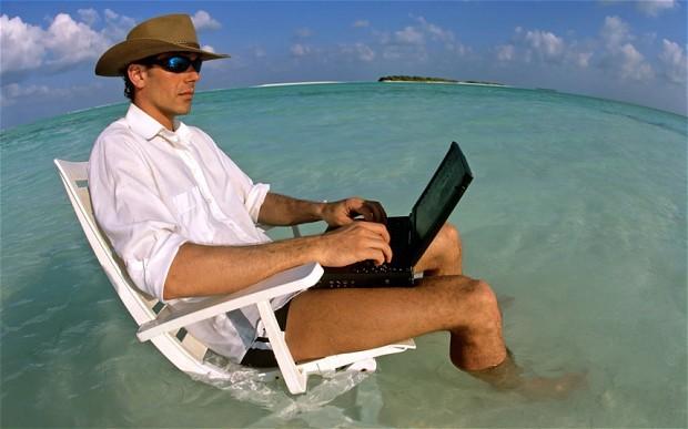 Pouvoir rédiger en vacances, une chance pour toutes et tous ?