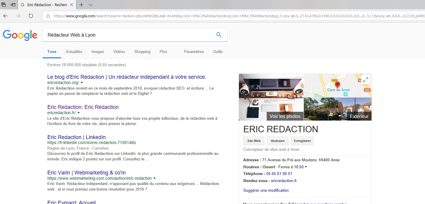 Rédaction Web et référencement local
