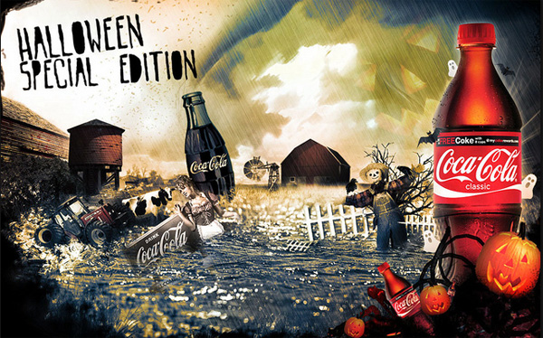 Halloween et la production de contenu, l'exemple de Coca Cola