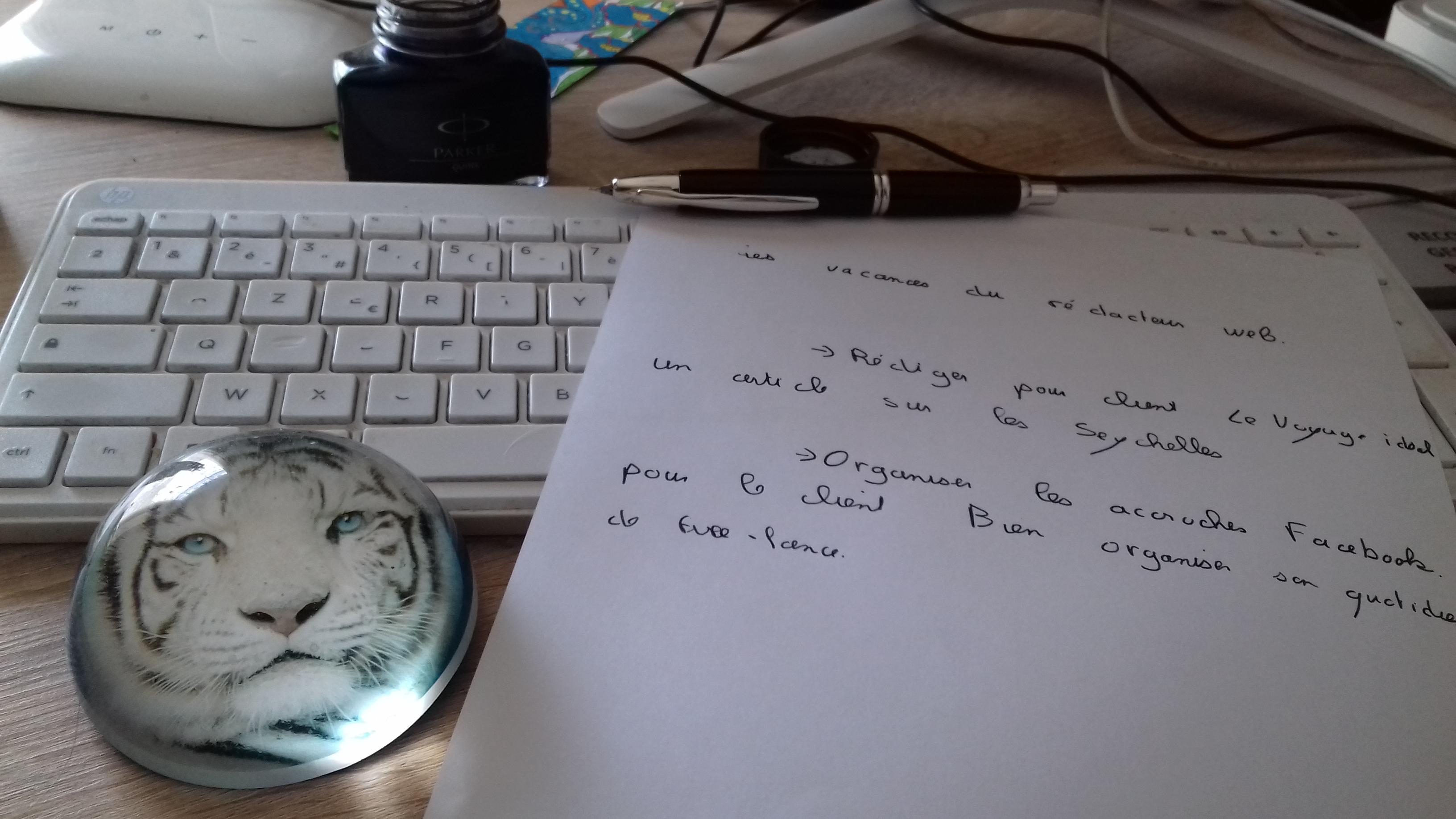 Ecrire pour le web pendant les vacances, pourquoi, comment ?