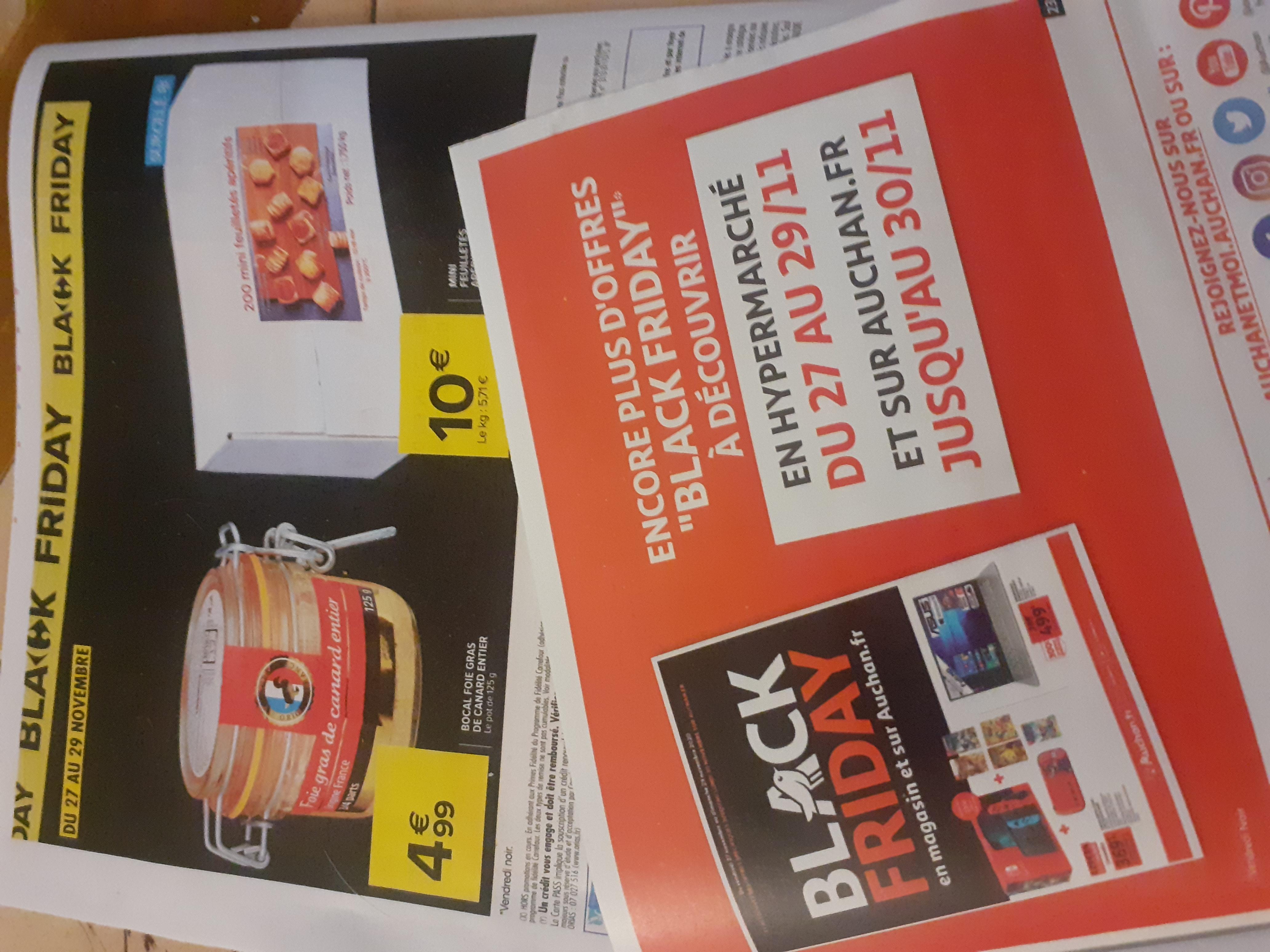 les publicités Black Friday de la Grande Distribution ont déjà inondé les boites aux lettres