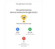 Google et kpi de la rédaction Web